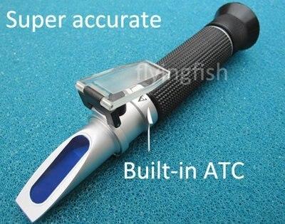 Brand New 0-10% Salinity Refractometer Salinity Meter for Aquarium Ocean Hydrometer