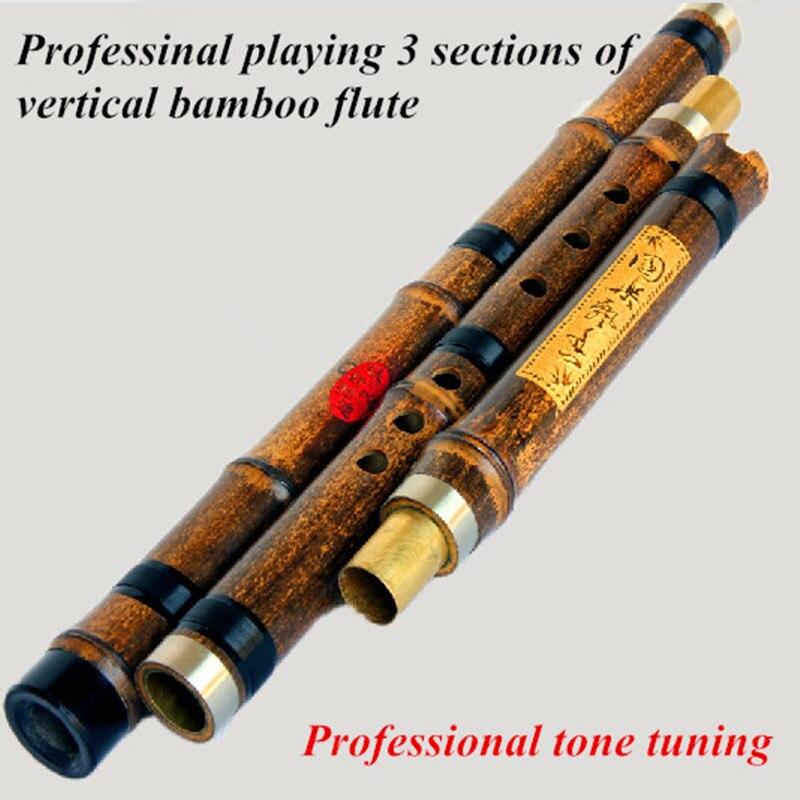Vertical Flauta clarinete Flauta XIAO F G Clave Chino 6 o 8 hoyos Flauta Flauta