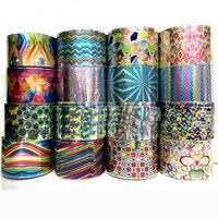 Nieuwe 1 Roll Nail Art Transfer Folie Sticker Papier DIY Schoonheid Polish Ontwerp Stijlvolle Nail Decoratie Gereedschap