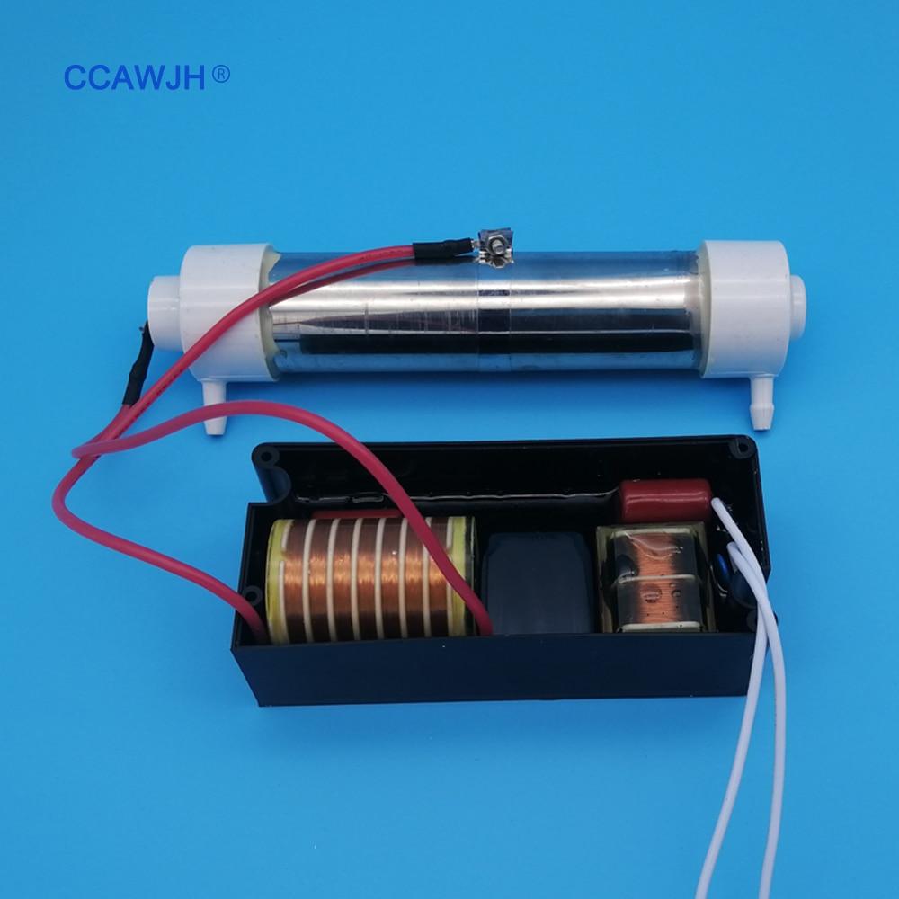 220V 110V 2g Quarz Rohr Ozon Generator Lange lebensdauer für Luft und Wasser Desinfektion + Optional zubehör + Kostenloser Versand