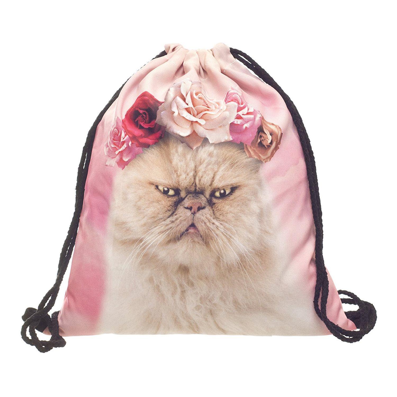 Хеба-Для женщин Детская Сумка подростковая Drawstring сумка рюкзак школьный рюкзак сумочка строка путешествия тренажерный зал ...