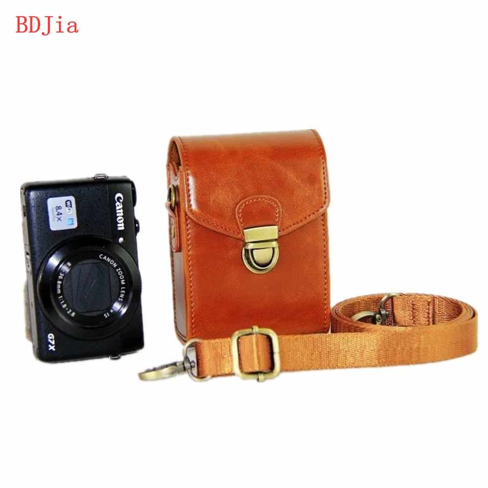 New Pu Leather Camera Case Bag Cover for Nikon W150 A1000 A900 With Shoulder strap and Hand Strap