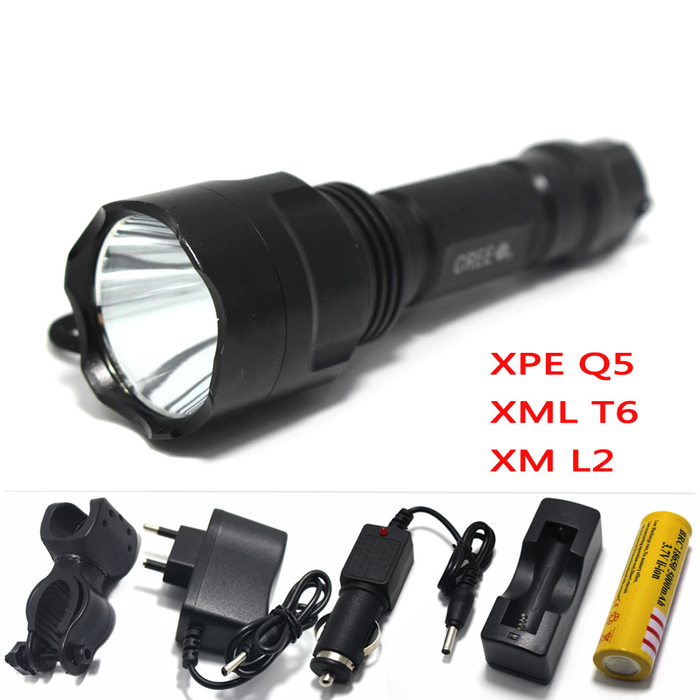 powerful led flashlight Torch rechargeable waterproof tactical hunting light cree xml t6 q5 xm-l2 rechargeable batteries 18650 nitecore mt10a 920lm cree xm l2 u2 led flashlight torch