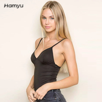 Free Shipping Casual Sleeveless Bodysuit Jumpsuit Romper Women Sexy White Bodycon Overalls Streetwear Summer Black One