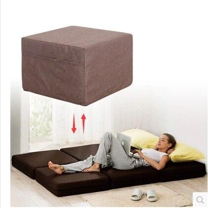 The New Pull Out Sofa Bed Stool Folding Siesta Nap Beanbag Tatami