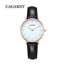 Top marca de moda mini mujeres de cuero del cuarzo reloj de pulsera señoras de la promoción de slim 32 MM Daniel relojes de vestir de estilo