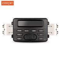 Zeepin DC 12 v MT723 Wasserdichte Motorrad Audio BlueTooth MP3 Player Lautsprecher Stereo FM Radio Externe LCD display bildschirm-in Motorrad-Audio aus Kraftfahrzeuge und Motorräder bei