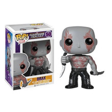 Christmas Toy Gift for Funko Pop Action Figure Correction Marvel Guardians of The Galaxy Superhero Drax The Destroyer Model Doll