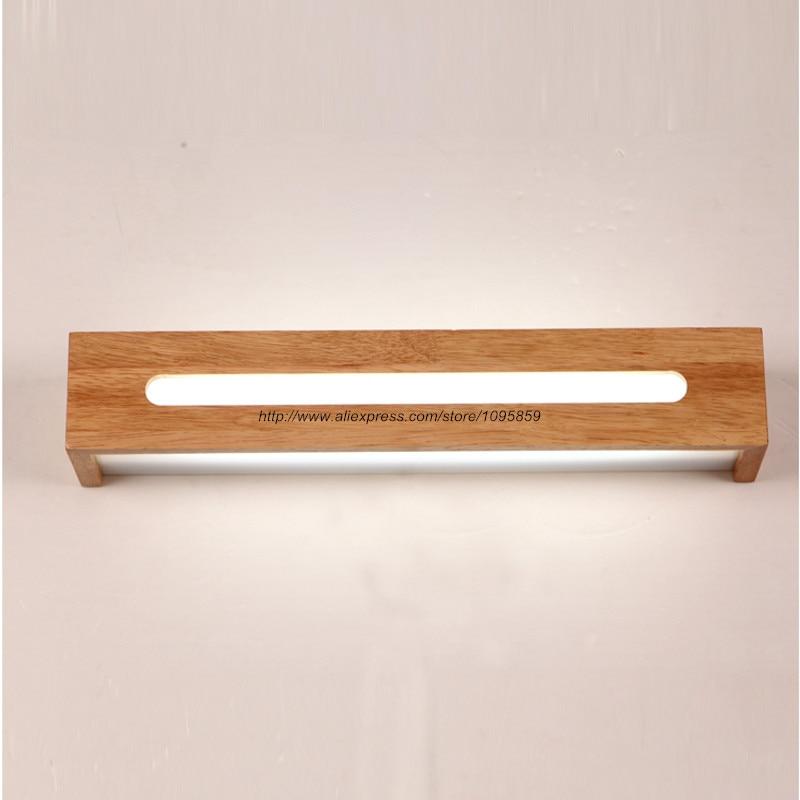 Moderne Wandleuchte mit stilvollem Design aus Holz