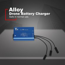 цены XIAOMI UAV Charger Battery Charger 3-in-1 RC Drone Battery Charger Can Charge Three Battery Charger Remote Control Charger