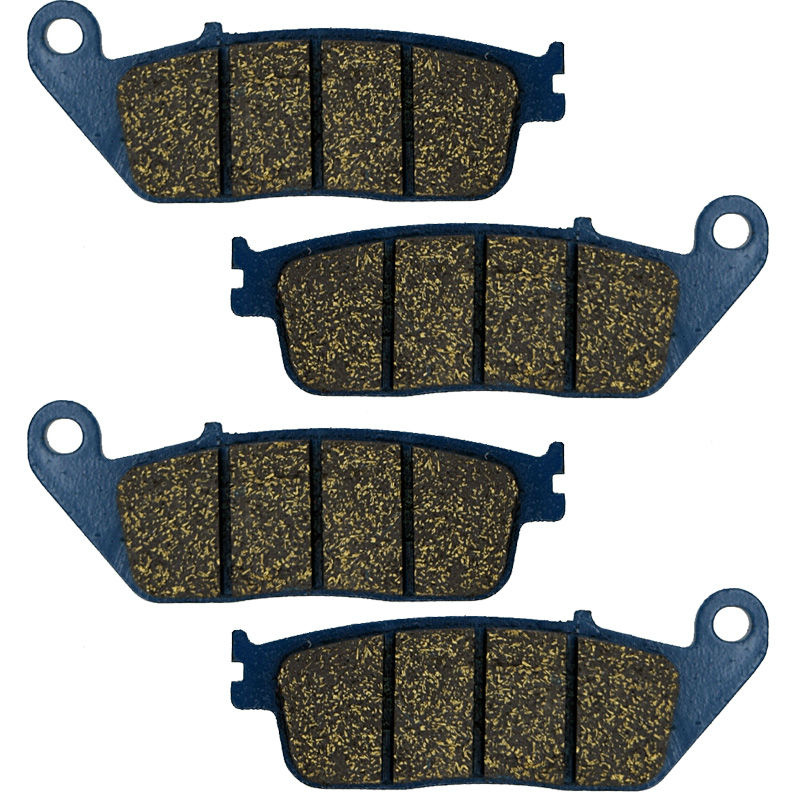 2011-2018//RC 125 2014-2015 AHL 2 Pairs Front and Rear Brake Pads for Duke 125 4T