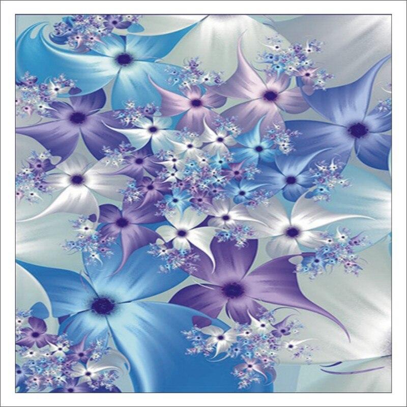 5D DIY Diamond Painting Flower Full Square Diamond Embroidered Cross Stitch Diamond Crystal MuralT006