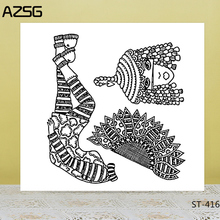 AZSG Ethnic Minority Woman Clear Stamps/Seals For DIY Scrapbooking/Card Making/Album Decorative Silicone Stamp Crafts