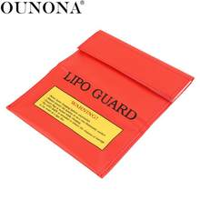18x23cm RC LiPo Li-Po Battery Fireproof Safety Guard Charge Bag Sack Protective Storage Bag Pouch(China)