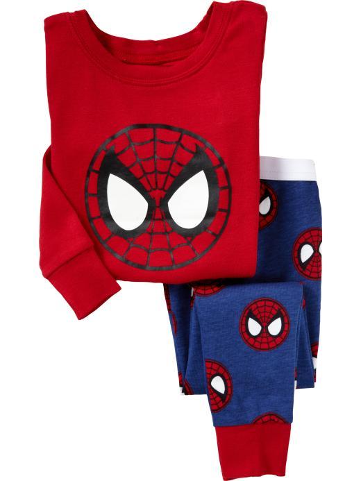 Red Spiderman Baby Boys Sleepwear pijama Boy   Pajamas   kids pyjama Children clothing   set   baby home clothes t-shirt + pant
