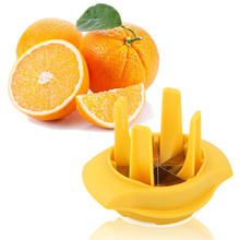 1PC Creative Lemon Squeezer Splitter Fruit Slicer Apple Separator Orange Zester Cutter Multi-function Kitche KX 021