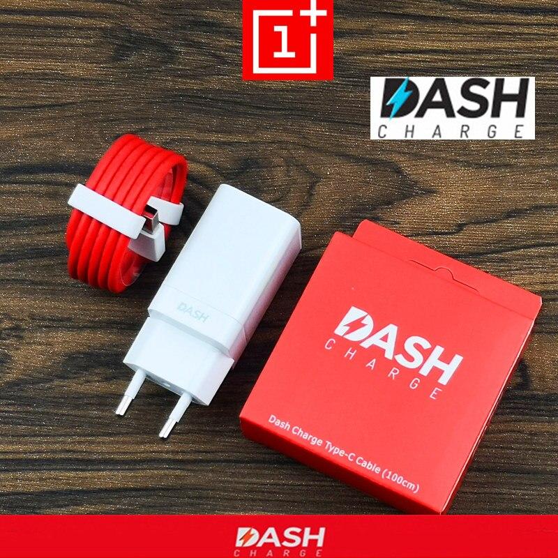 Original EU Oneplus 6 t Dash Ladegerät 6 5 t 5 3 t 3 Ein Plus Smartphone 5 v/ 4A power adapter Schnelle Ladung Usb 3.1 Typ C Daten Kabel