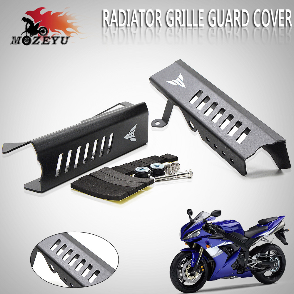 For Yamaha MT-09 2014 2015 2016 2017 Radiator Grille Guard Cover Protector Black