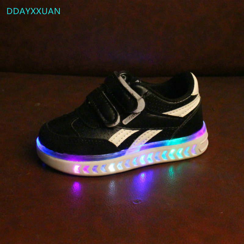 Boys' HYDRO LIGHTS blkblu light up sneakers
