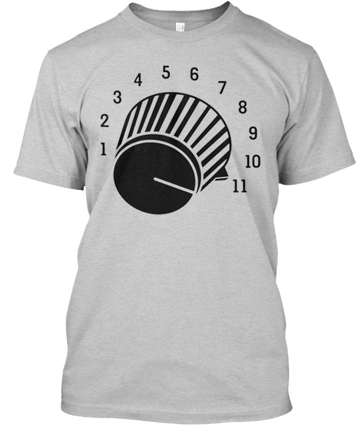 Turn It Up Premium - 1 2 3 4 5 6 7 8 9 10 11 Popular Tagless Tee T-Shirt