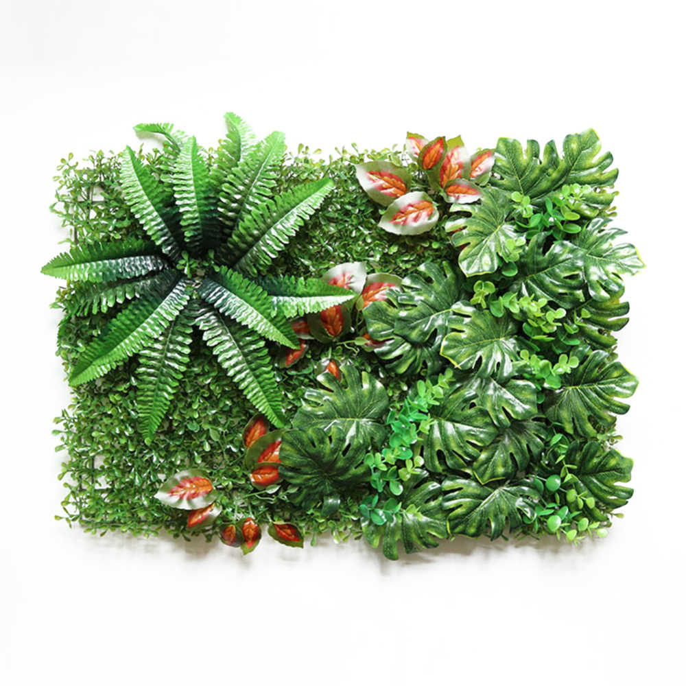Имитация зеленый газон Искусственный завод Свадьба фоновая стена отеля украшения для дома, сада, двора поставки поддельные газон