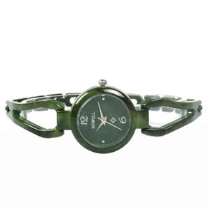 Image 3 - BEWELL relojes de Jade para mujer, reloj de pulsera con gemas, resistente al agua, regalo, amigos, 077A