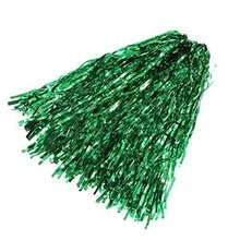 LGFM-Party Costume Sports Cheerleader Party Favors Flower Ball Pom Poms Hot New Green