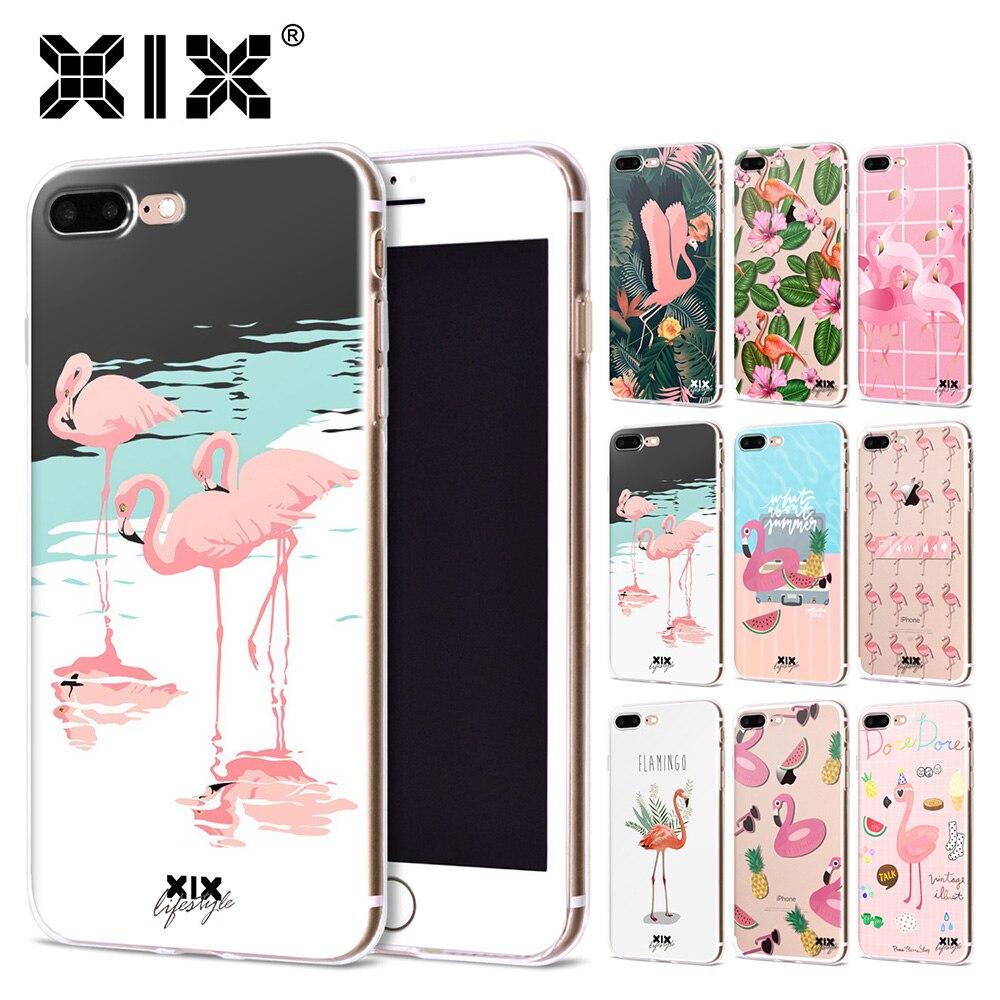 Pink Flamingo iPhone 6/6S/7/8 PLUS Cover