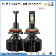 Free Shipping 1 Set 10000LM 100W CSP Chips 9004 Led Headlight Lamp Hi/Lo Auto Led Car Headlight Bulbs