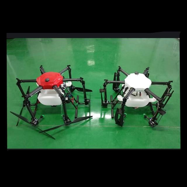 Y616 espray de Agricultura de seis ejes 16L 16 KG drone 1600mm marco plegable de fibra de carbono puro con E5000 pro/X8 kit de potencia