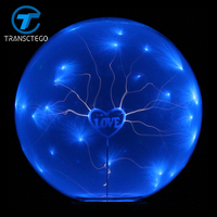 Magic ion ball lamp novelty light static electricity Lightning ball lamps nightlight