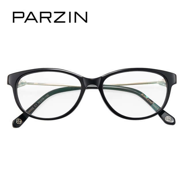 PARZIN High Grade Women Optics Myopia Eyewear Frames With Clear Lens ...