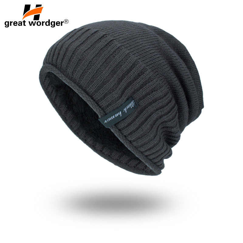 Winter Winddicht Wandelen Caps Mannen Warm Thermische Knit Hoed Fleece Balaclava Mutsen Ski Bike Motorhelm Hoed