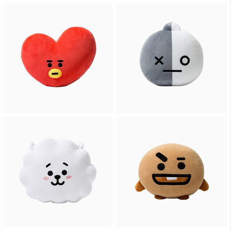 30*40cm BTS Bangtan Boys Kim Tae Hyung V Jung Kook Rabbit Cooky Plush Pillow Cushion Toy Stuffed Doll Fans Gifts signed bts jeon jung kook autographed photo love yourself 4 6 inches freeshipping 092017b