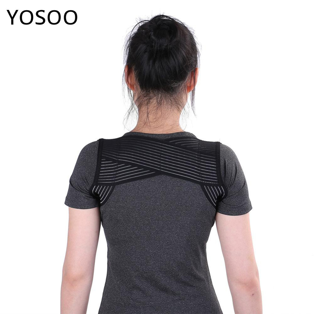Posture Corrector Prevent Humpback Upper Back Support Shoulder Braces Corset Lumbar Spine Support Correction Back Belt Support
