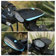 Безопасный Водонепроницаемый USB Перезаряжаемый светодиодный велосипедный передний свет для ночного бега