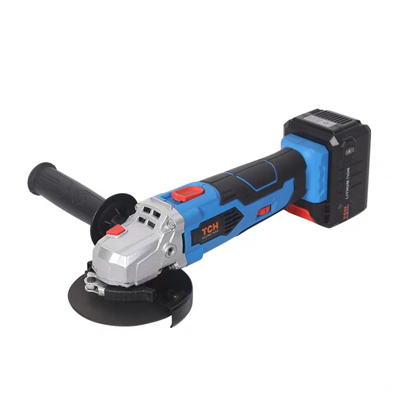 TCH 16V Cordless Brushless Lithium Ion Angle Grinder Grinding Power Tool Cutting and Grinding Machine Polisher