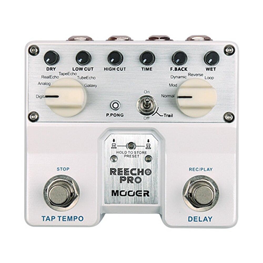 mooer reecho pro digital delay electric bass guitar effects pedal tdl1 in guitar parts. Black Bedroom Furniture Sets. Home Design Ideas