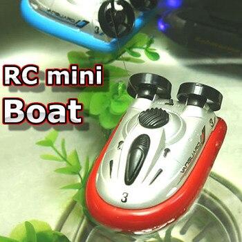 цена на 777-220  Mini rc boat Hovercraft Hot Sale New Arrival 4 Color Mini Micro I/R RC Remote Control Sport Hover Boat Toy Gift FSWB