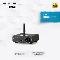 Used products SMSL B1 HiFi Stereo Audio BT DAC Receiver NFC Optical Coaxial Digital Audio Decoder 24 Hours Playing Time Black