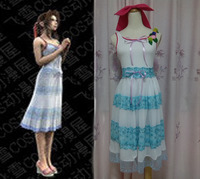 anime cosplay Final Fantasy VII 7 Aerith Gainsborough Cosplay costumes