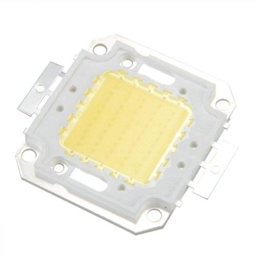 Promotion! High Power 50W LED chip bulb light lamp DIY White 3800LM 6500K