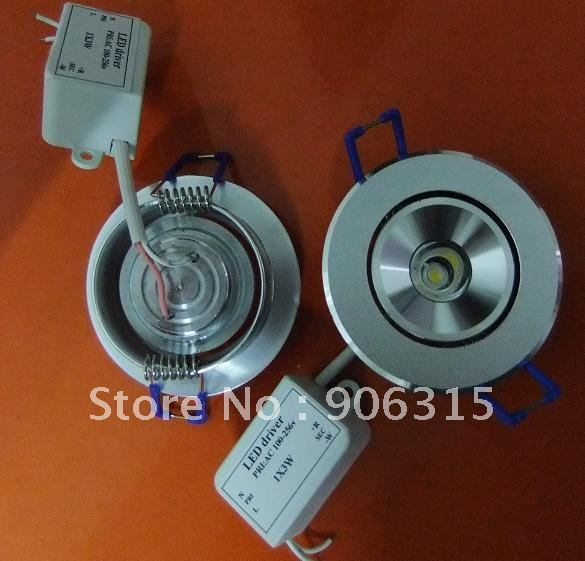 Wholesale  Warm white /Cool white ,led light .ceiling light,led lamps,3W,180-210LM LED Downlight