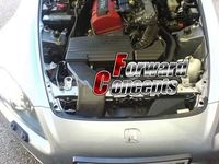 Для углеродного волокна 2000 2003 S2000 AP1 JDM двигатель воздуховод Совок системы