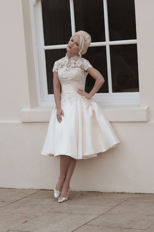 Popular Vintage Inspired Short Wedding Dresses-Buy Cheap Vintage ...