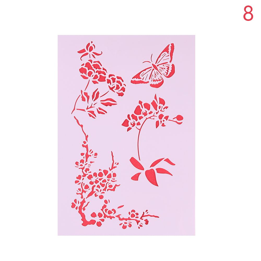 Online shop 1pc christmas flower template layering stencils for online shop 1pc christmas flower template layering stencils for wall painting scrapbooking stampalbum decor embossing paper card diy craft aliexpress amipublicfo Gallery