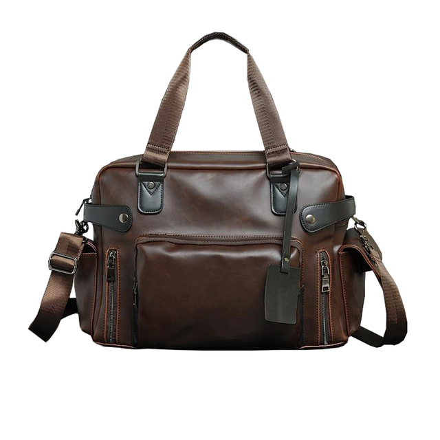 972145c739 Fashion Men s Travel Bags Brand luggage Waterproof suitcase duffel bag  Large Capacity Bags casual High-capacity leather handbag