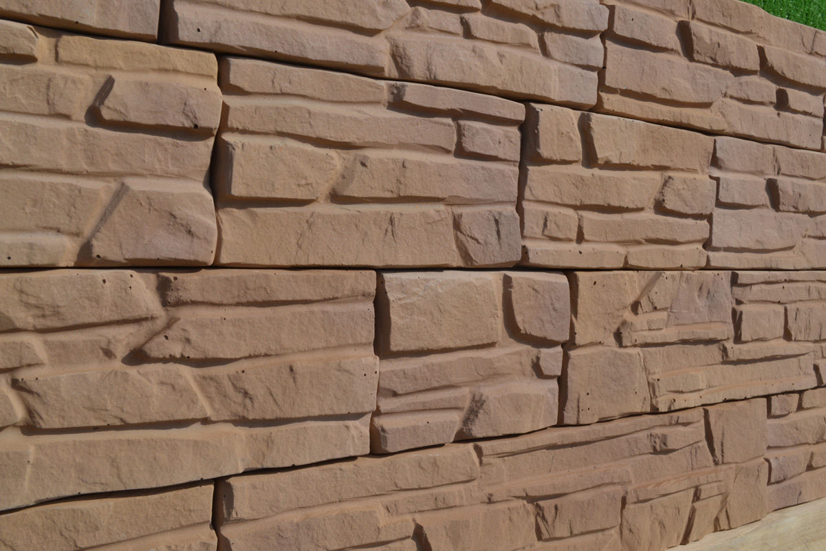Wall tile buy cheap stone wall tile lots from china stone wall tile - 2 Pieces 14 Bricks Plastic Cement Diy Mold For Garden Wall Decor Artifical Tiles Molds House