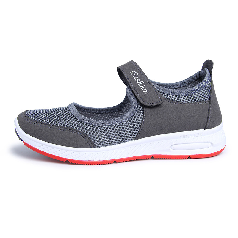 Cheap Women Sports Shoes Lightweight Summer Breathable Flats Mother Girls Pregnant For Waking Running Moccasins Ladies Sneakers