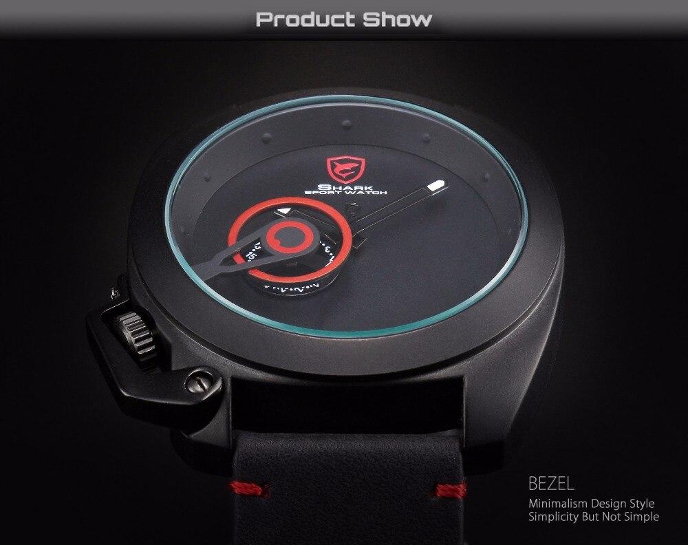 HTB15e55NXXXXXXwaXXXq6xXFXXX9 Tawny SHARK Sport Watch Red Date Luxury Watch
